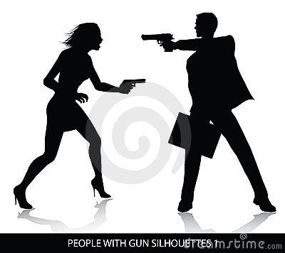 people-gun-silhouettes-175502791